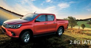 Những điểm thay đổi trên dòng xe Toyota Hilux 2016