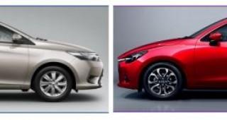 Nên chọn Toyota Vios hay Mazda 2?